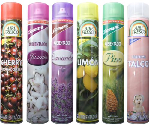 AMBIENTADOR SPRAY AROMAS XIOMARA 750 ML.